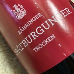 Weingut Zahringer Spatburgunder (ltr)