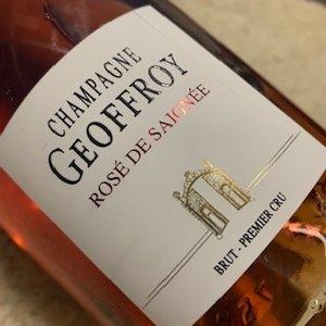 Champagne Geoffroy Rose de Saignee