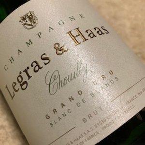 Champagne Legras & Haas Blanc de Blancs Grand Cru (0.375L)