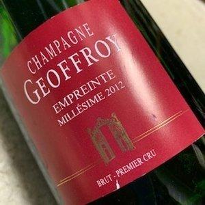 Champagne Geoffroy Empreinte 1er Cru demi