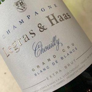Champagne Legras & Haas Blanc de Blancs Grand Cru Extra Brut