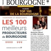 Domaine Buisson bij de beste 100  in Bourgogne Aujourd'hui