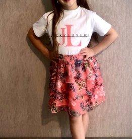 Jacky Luxury Jacky Luxury T-Shirt Artwork Coral