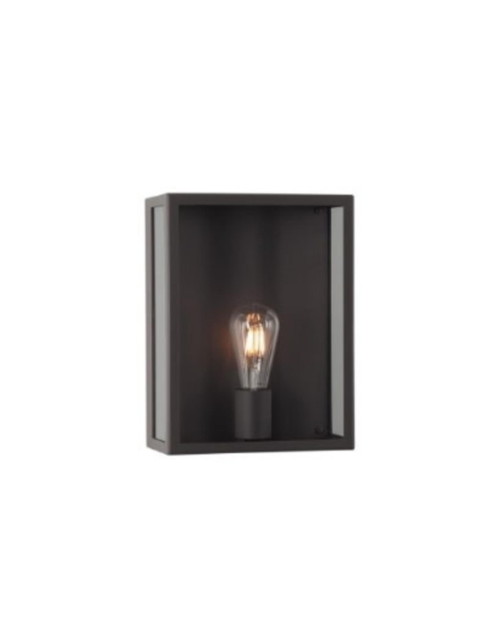 psm lighting Opbouw wandlicht zwart textuur