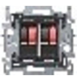 Niko Sokkel luidsprekeraansluiting 2-voudig (max 4mm²)