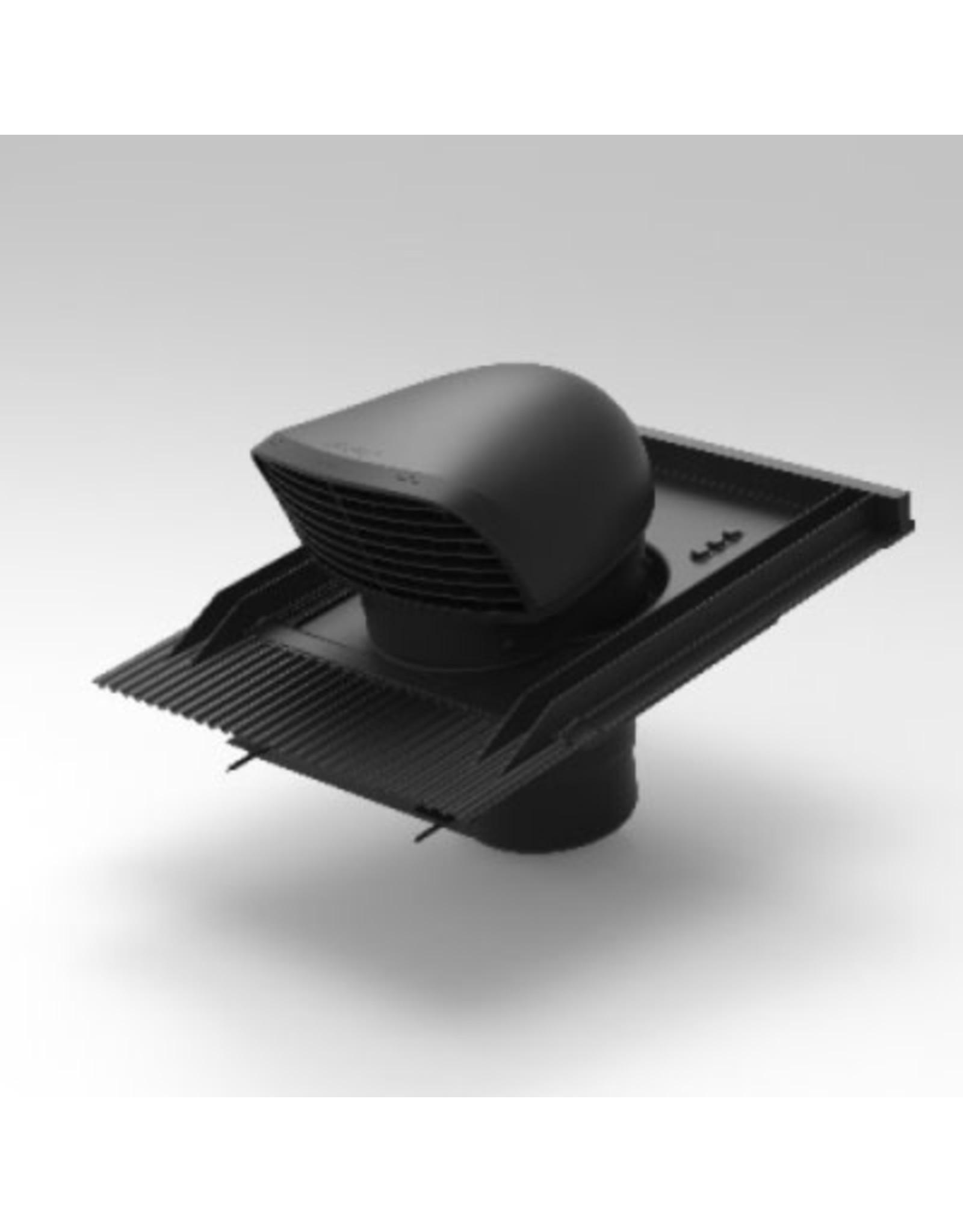 renson Dakdoorvoer - Ø150/160 - design - zwart