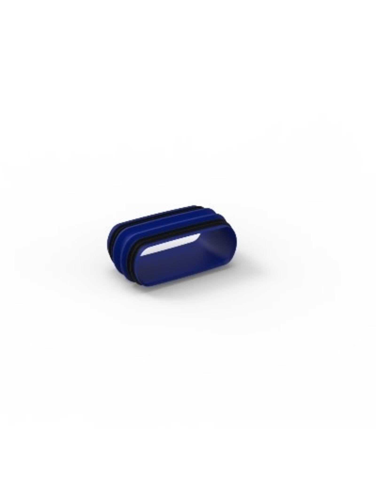 renson EASYFLEX koppelstuk - met rubbers - plat ovaal
