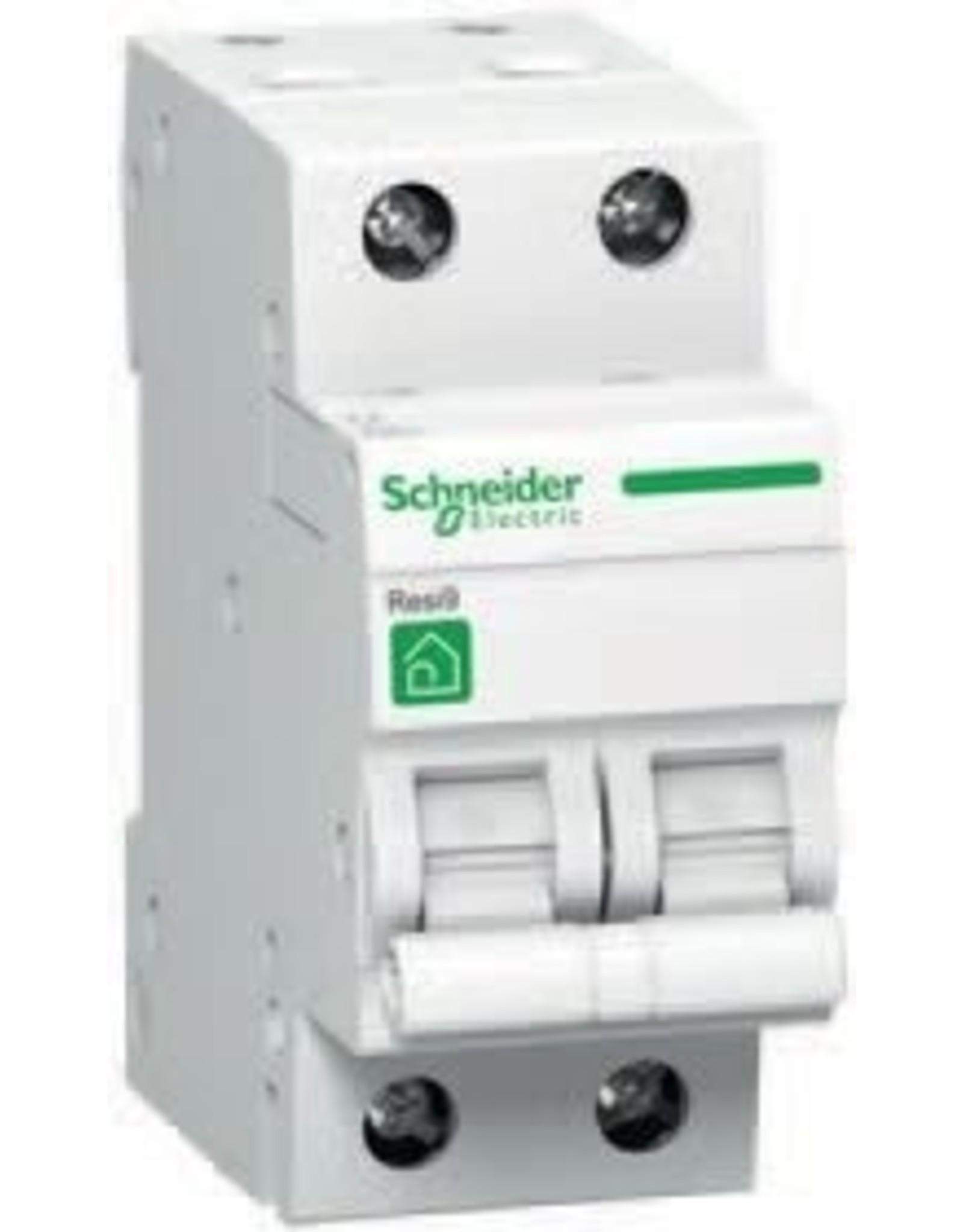 SCHNEIDER RESI9 automaat 2P 16A C 3kA