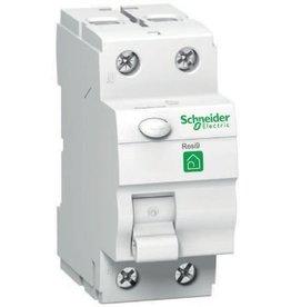 SCHNEIDER RESI9 differentieelschakelaar 2P 40A 30 mA A