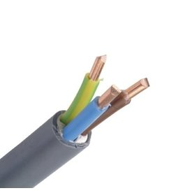 XVB installatiekabel XLPE/PVC 1kV Cca s3d2a3 grijs 3G1,5mm²
