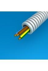 preflex voorbedrade buis 16mm + VOB 3G2,5mm² rol 100m