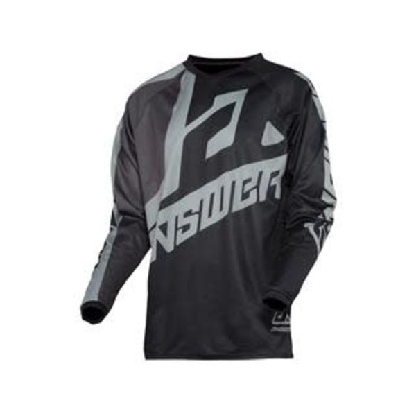 Answer ANSWER Syncron Voyd Junior Jersey Jersey Black/Charcoal/Steel