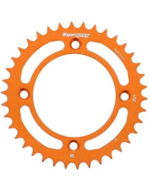 Supersprox tandwiel ALU SX50 oranje