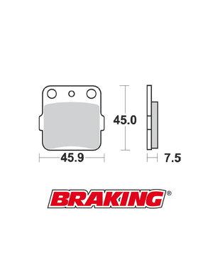 Braking Braking remblokken CM44 YAMAHA YZ65 / YZ85 achter
