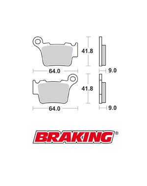Braking Braking remblokken 891CM KTM achter