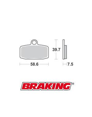 Braking Braking remblokken CM44 SX 85 voor