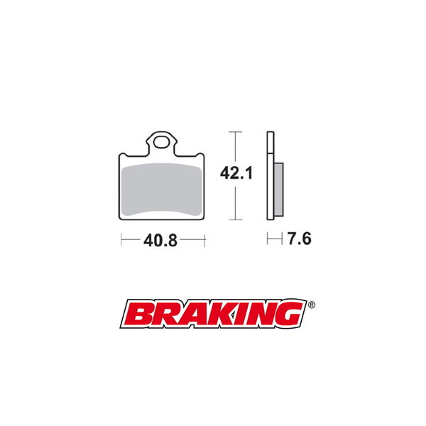 Braking Braking remblokken CM44 KTM SX 85 achter