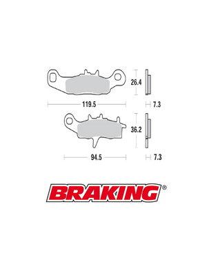 Braking Braking remblokken CM44 KX85 / RM85 voor