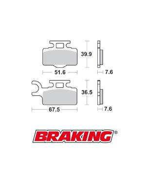 Braking Braking remblokken CM44 KX65 voor