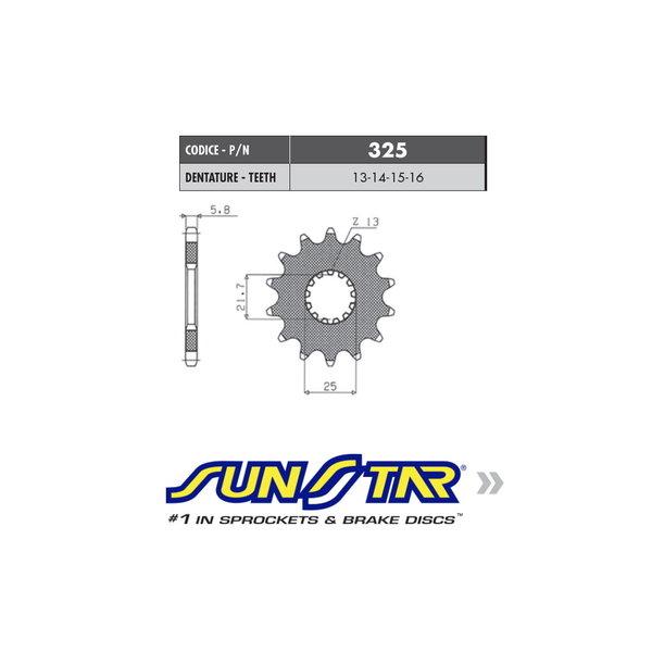 Sunstar Sunstar voortandwiel YZ 250 / YZ-F 450