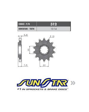 Sunstar Sunstar voortandwiel HONDA CRF 250 -17
