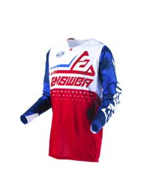 Answer ANSWER Shirt Elite Discord Red/White - Maat M