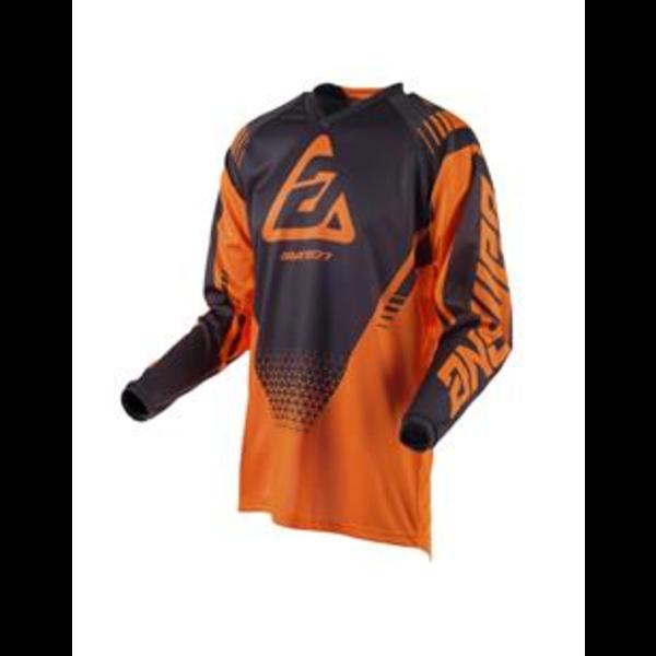 Answer ANSWER Shirt Syncron Drift Junior Orange Fluo/Grey - Maat Jeugd M