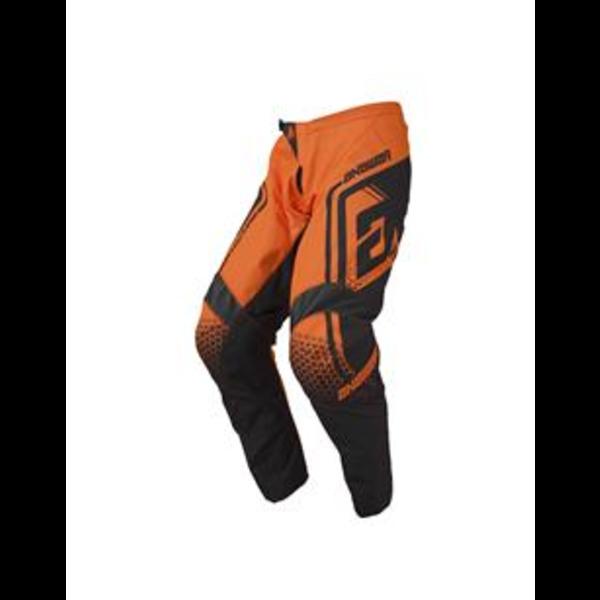 Answer ANSWER Broek Syncron Drift Junior Orange Fluo/Grey - Maat 20