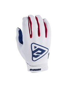 Answer ANSWER Handschoenen AR3 White/Red - Maat S