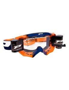 Progrip Progrip 3200 Venom Racerpack XL Goggle - Blue/FluoOrange