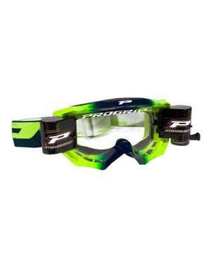 Progrip Progrip 3200 Venom Racerpack XL Goggle - Navy Blue / Fluo Yellow
