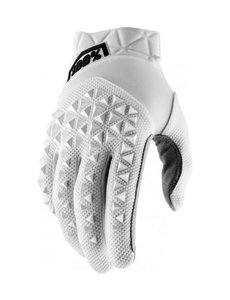 100% AIRMATIC GLOVES WHITE