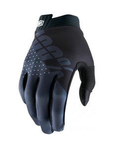 100% ITRACK GLOVE BLACK/CHARCOAL YOUTH