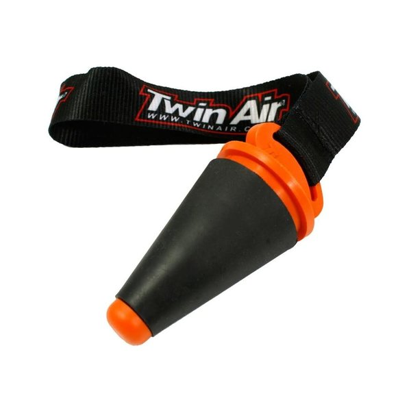 """Twin Air Exhaust Plug """"Small"""", Dia 18mm to 40mm, (with Strap)"""