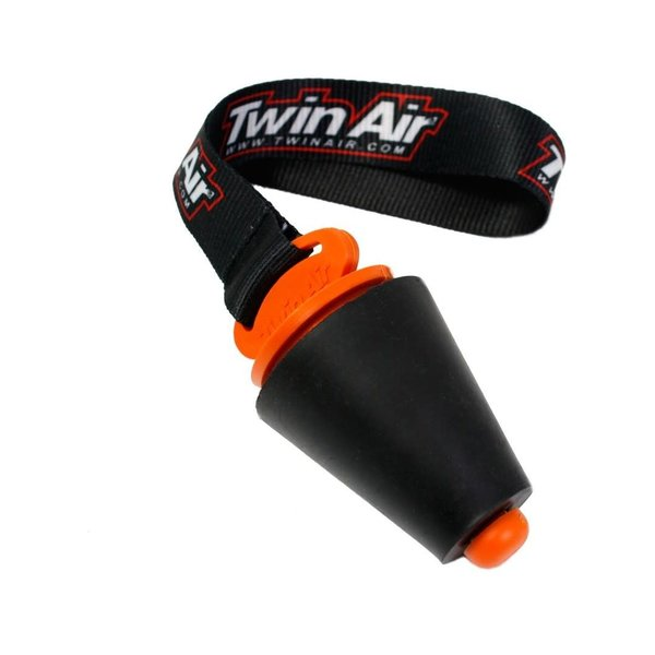 """Twin Air Exhaust Plug """"Large"""", Dia 27mm to 50mm, (with Strap)"""