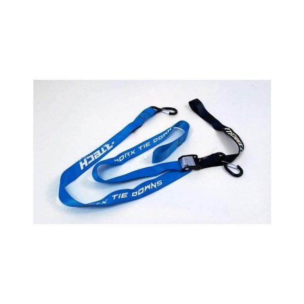 Rtech TIE DOWNS W/SAFETY LOCK - BLUE