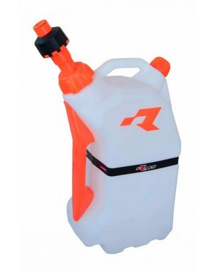 Rtech GAS CAN WITH QUICK FILL SYSTEM CLEAR/ORANGE