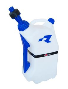 Rtech GAS CAN WITH QUICK FILL SYSTEM CLEAR/BLUE