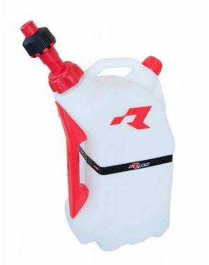 Rtech GAS CAN WITH QUICK FILL SYSTEM CLEAR/RED