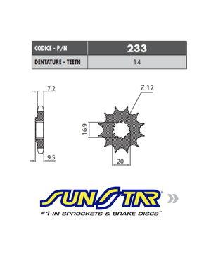 Sunstar Sunstar voortandwiel KTM SX 85