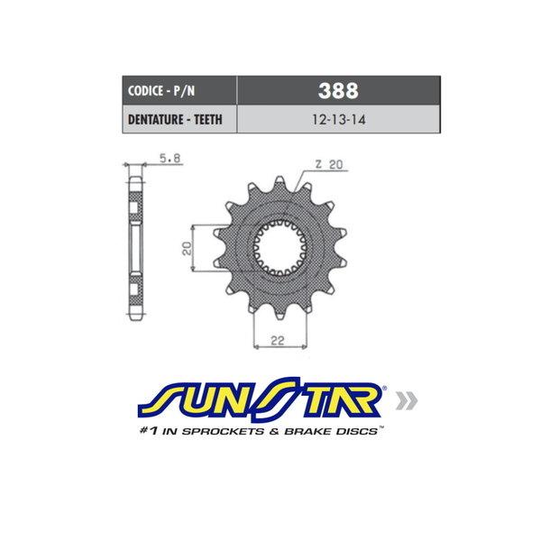 Sunstar Sunstar voortandwiel YZ 125 / YZ-F 250