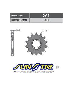 Sunstar Sunstar voortandwiel Kawasaki KX-F 450