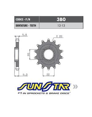 Sunstar Sunstar voortandwiel Kawasaki KX-F 250