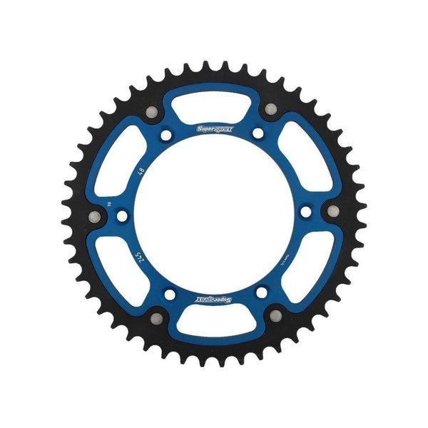 Supersprox tandwiel Stealth Yamaha blauw