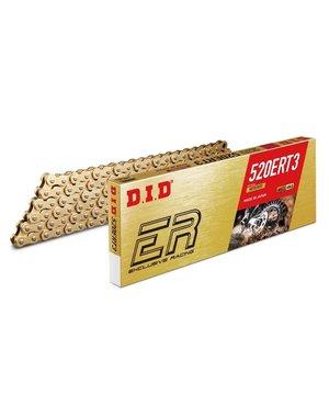 DID D.I.D 520 ERT3 Ketting Goud/Goud 118 Schakels C Clip