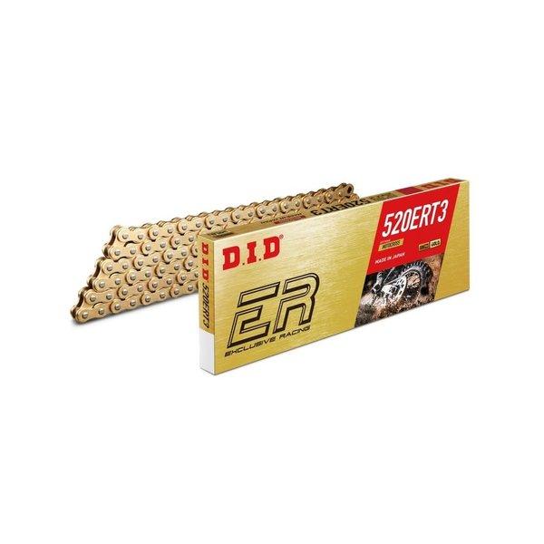 DID D.I.D 520 ERT3 Ketting Goud/Goud 118 Schakels RJ Clip