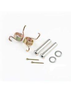 DRC FOOTPEGS SPRING/PIN SET YZF 250/450 - YZ85/125/250