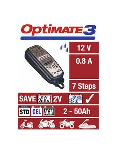 Tecmate TECMATE OPTIMATE 3 - BATTERY CARE HOME