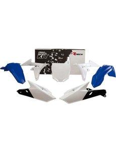 Rtech PLASTICS KIT 5 PCS YAMAHA BLUE-WHITE (OE)