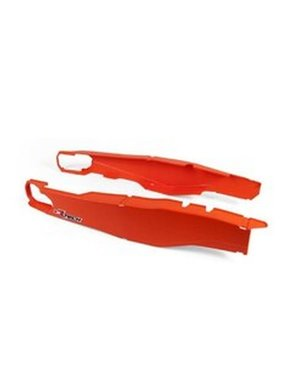 Rtech PLASTIC SWINGARM PROTECTORS ORANGE